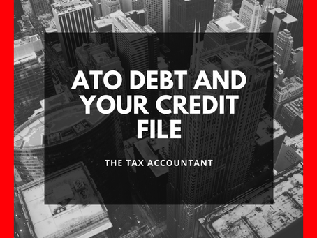 ATO Debt & your Credit File