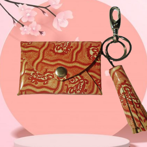 Geisha - Small Leather Wallet