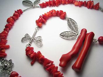 Ilina Design silver filigree necklace
