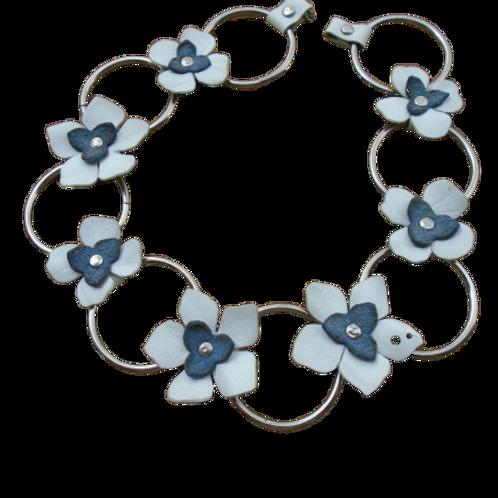 Jasmine Leather Necklace