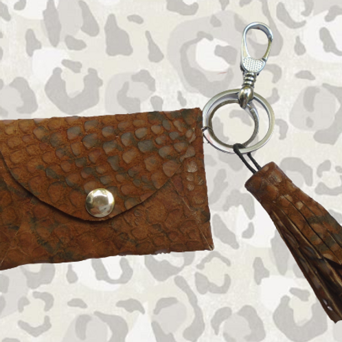 Africana - Small Leather Wallet