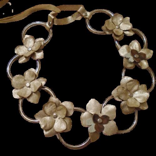 Golden Jasmine Necklace