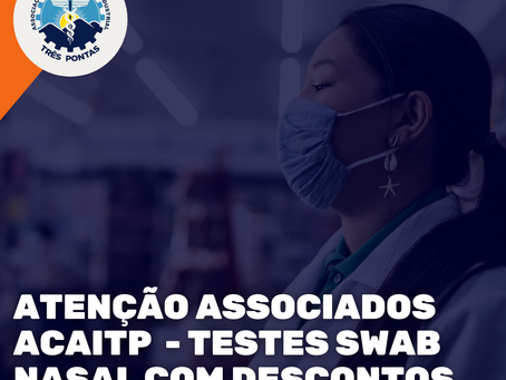 Covid-19: Associação Comercial De Três Pontas Adquire Testes Com Desconto Para Empresas Associadas