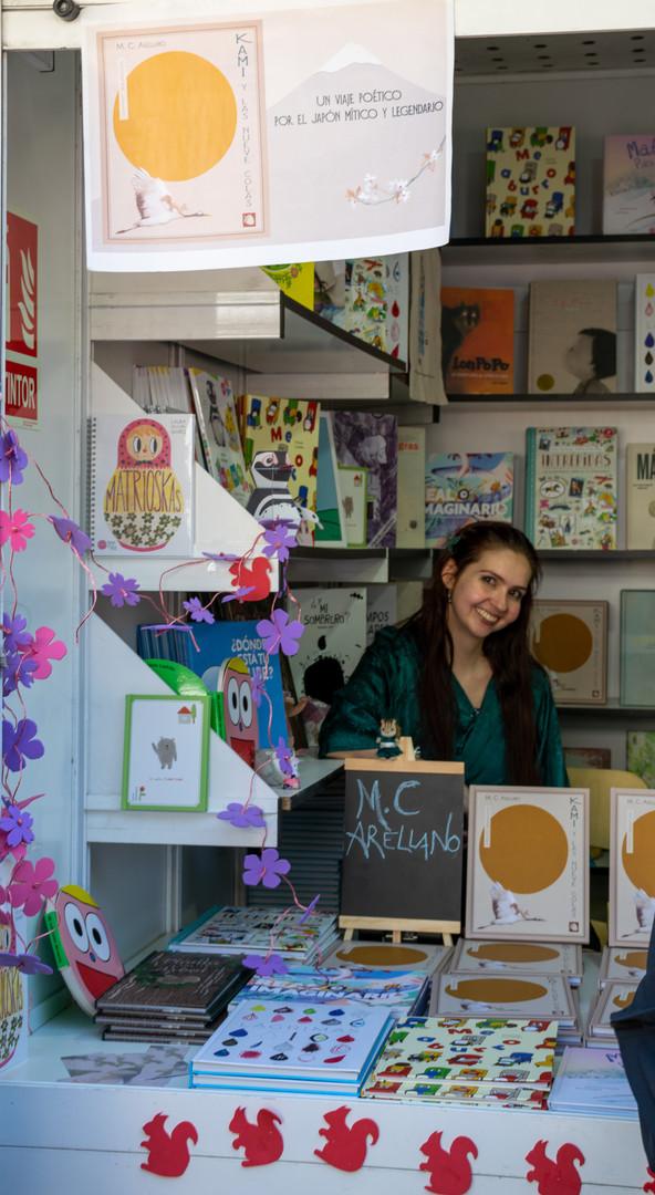 Kami en la Feria del Libro