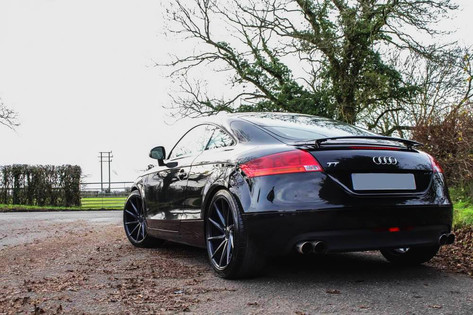 Audi TT Fitted With Bola ZZR