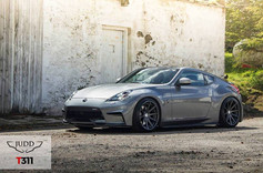 """Nissan 370z Fitted With 20"""" Judd T311"""