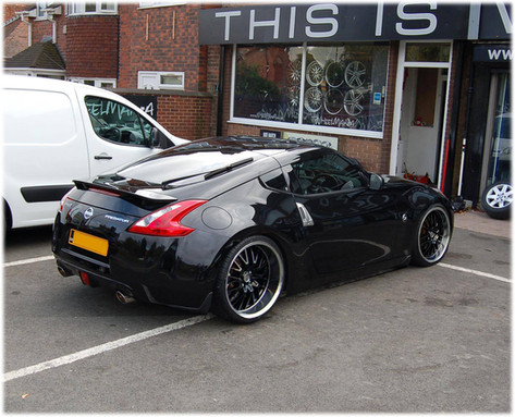 """NISSAN 350Z Fitted With 20"""" RADISSON"""