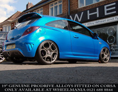 """VAUX Vauxhall Corsa Fitted With 19"""" Prodrive"""