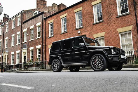 Merc G wagon Fitted With RV126