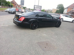 MERC S CLASS Fitted With MERDAD