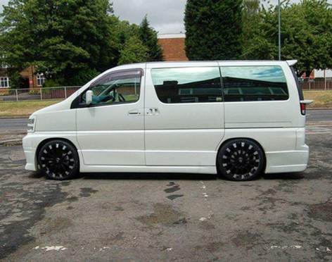 """Toyota Hiace fitted with 20"""" Wolfrace Assassin"""