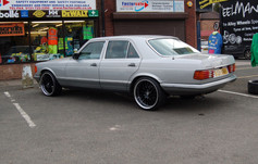 """MERC 280SE  Fitted With 20"""" RADISSON"""