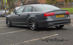 """Audi A6 Fitted With 20"""" MGM"""