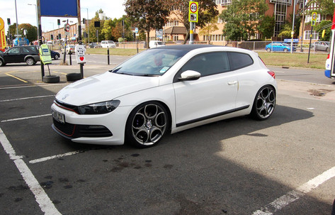 """VW SCIRROCO Fitted With 19"""" Prodrive"""