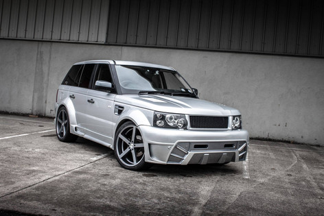 Range Rover Fitted With AC Star 5