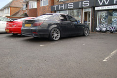 Bmw E60 Fitted With Mania Mayfair