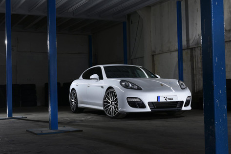 Porsche Panamera Fitted With Riviera rv136