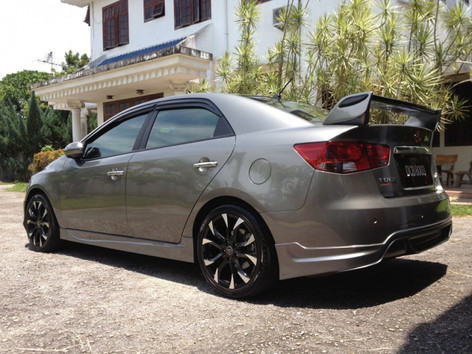 Honda Civic Fitted With Wolfrace Assassin