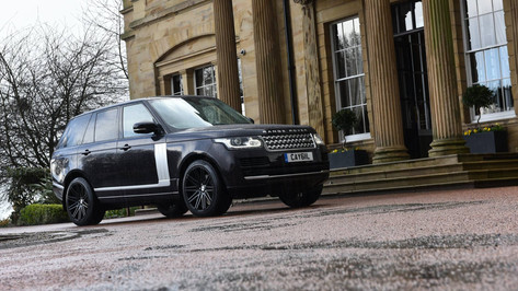 RANGE Range Rover Fitted With RIVIERA RV120
