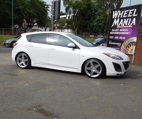 "MAZDA 3 Fitted With 18"" CCF"