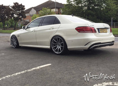 """MERC E CLASS  Fitted With 20"""" MAYFAIR"""