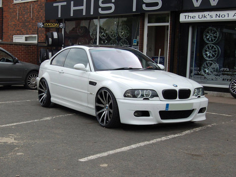 """BMW M3 Fitted With 20"""" MGM"""