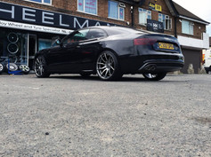 """Audi A5 Fitted With 20"""" MAYFAIR"""