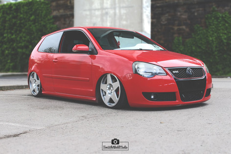 VW Polo Fitted With BOLA B10