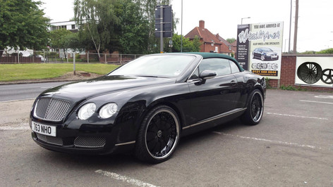 """BENTLEY GTC Fitted With 22"""" Rucci Grasso"""