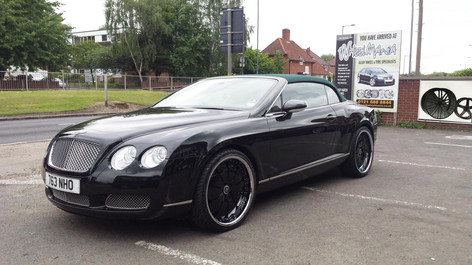 "BENTLEY GTC Fitted With 22"" Rucci Grasso"