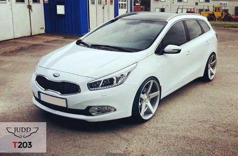 Kia Fitted With Judd T203