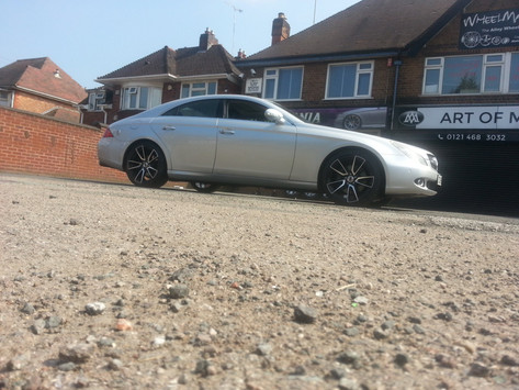 "MERC CLS Fitted With19"" DRC DLA"