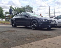 Audi A7 fitted with Mania Mayfairs
