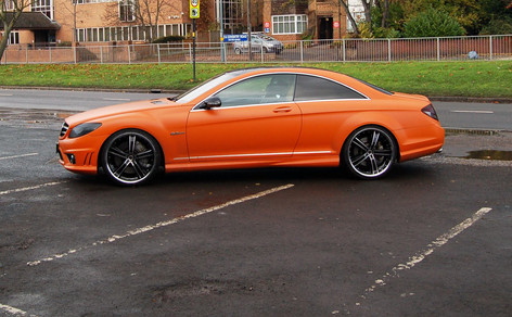 """MERC CL500 Fitted With 20"""" CRILLON"""