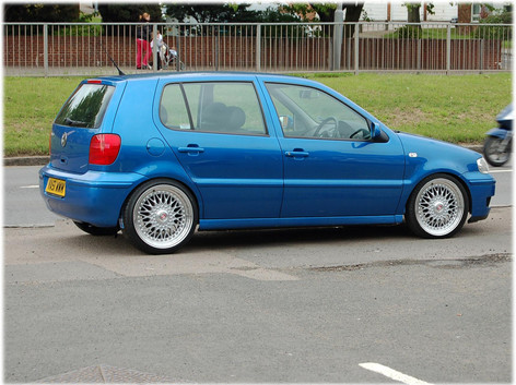 """VW Polo Fitted With 17"""" Vintage"""