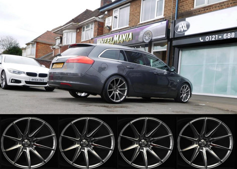 "Vauxhall Insigna Fitted With 19"" Calibre CC-T"