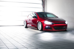 VW Scirocco Fitted With 3SDM 0.04