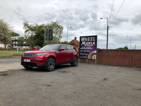 Range Rover Velar Fitted With velare vlr01