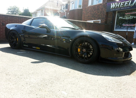 CORVETTE Z06 Fitted with 2 FORGED ZF2
