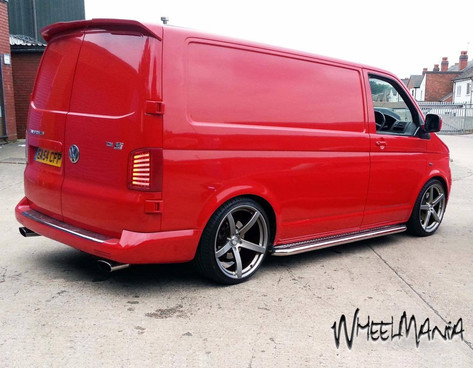 "VW T5 Fitted With  20"" SILVERSTONE"