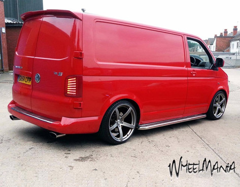 """VW T5 Fitted With  20"""" SILVERSTONE"""