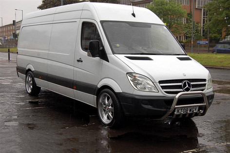 "MERC SPRINTER Fitted With 20"" VOYAGE"