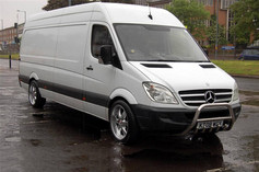 """MERC SPRINTER Fitted With 20"""" VOYAGE"""