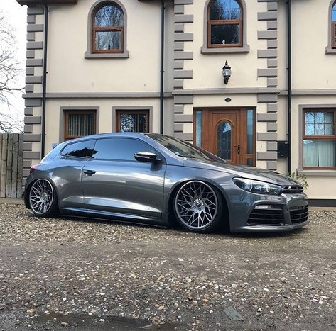 VW Scirocco Fitted With VFS 29R