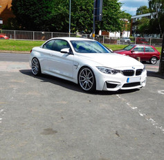BMW M4 Convertible Fitted With Mania Mayfairs