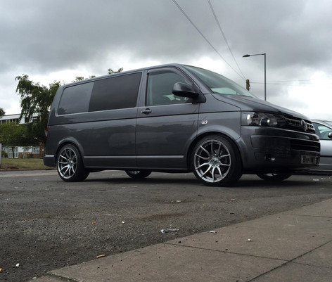 "VW T5 Fitted With 20"" MAYFAIR"