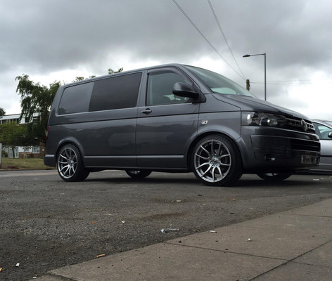 """VW T5 Fitted With 20"""" MAYFAIR"""