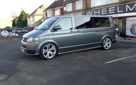 """VW T5 Fitted With 20"""" SAVOY"""