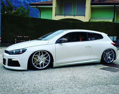 VW SCIROCCO Fitted With Veemann FS27