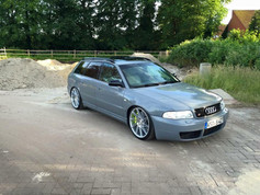 A4 Avant Fitted With Veemann VFS26